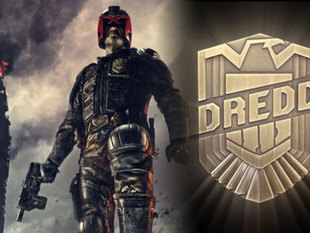 DREDD film badge