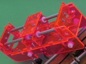 Fluorescent MakerBot XY Platform