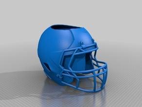 football helmet pen cup