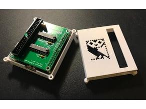 BBC Micro Coprocessor Tube Hat with Raspberry Pi 3A+ Case