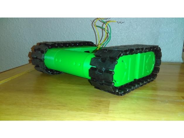 Drogerdy - Raspberry Pi Controlled Tank Bot by Ryanrose51