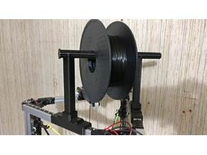 Universal Delta 2020 Spool holder / Filament support, supportless and screwless