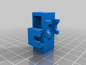 Anet A6 X-axis belt tensioner