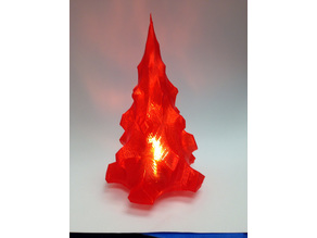 Mini LED tealight christmas tree