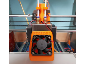 Zonestar P802QR2 Extruder Cable Cover