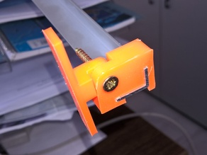 Adjustable L profile holder - parametrisable