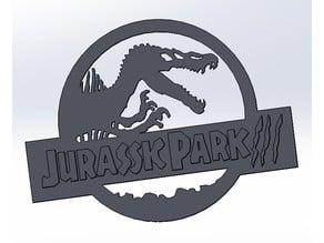 logo jurassic park 3