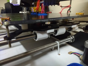 Improved y-axis carriage attachment for prusa i3