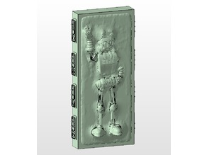 JoelBot In Carbonite