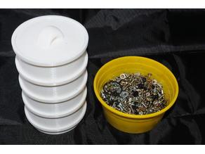 Stacked Screw sorter storage