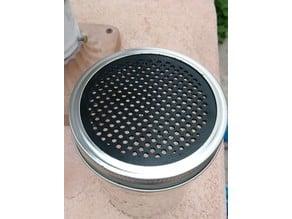 Shaker/Seed Sorter for a Mason Jar