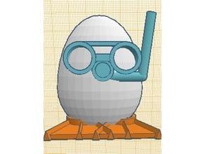 Diving egg