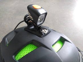 Headlight Mount for Smith Forefront Helmet