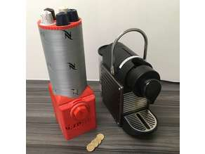Nespresso Pod Dispenser WIth Coin Slot