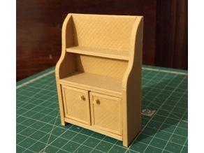 Dollhouse Kitchen Dresser / Cupboard