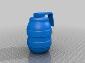 simple grenade prop