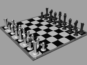 Astroid modern Chess