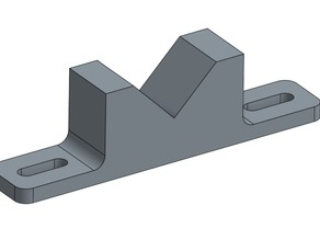 Diagonal Support Block with Tabs