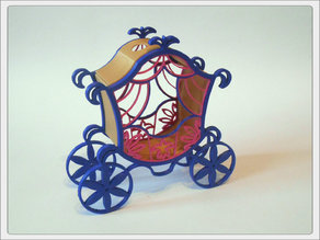The carriage for Cinderella.