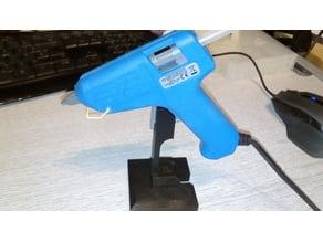 Glue gun stand - mini glue gun