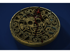 Aztec Gold Drink Coaster