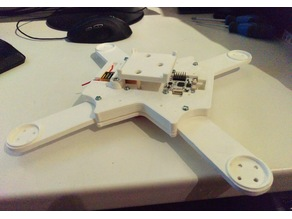 250er Quadrocopter with CC3D