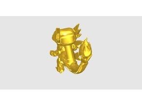 Charmander-Crown Armor