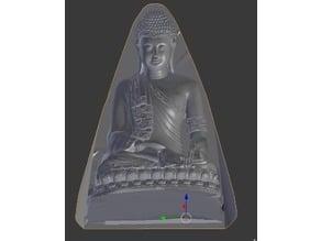 Buddha IV. Optical Illusion Mould Stand