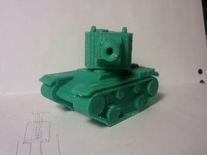 Tank KV-2