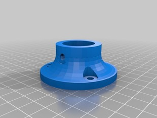 Parametric Pipe Mounting Flange