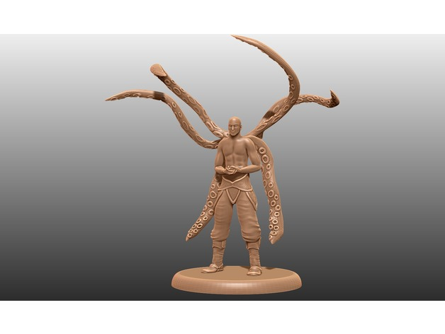 Simic Hybrid Tabletop Miniature By M3dm Thingiverse