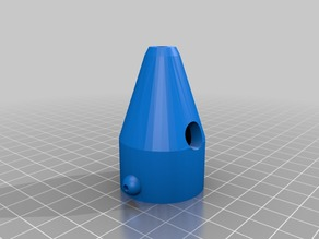 Air Assist Nozzle for K40 Chinese Laser Cutter/Engraver