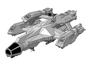 WC Privateer - Galaxy-class Freighter