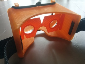VR Goggles / mask for NEXUS 5 with google cardboard parts.