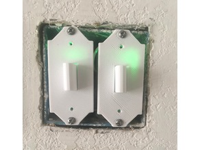 In Wall Sonoff Light Switch Box Push Button