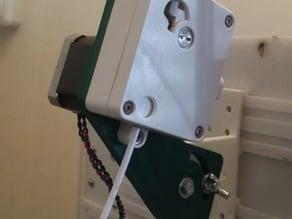 Bracket to mount Ultimaker +feeder on the U2RS