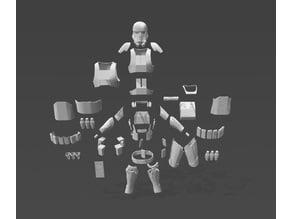 "Death Trooper Rogue 1 Full body Armour Suit ""Split On Etzy"""