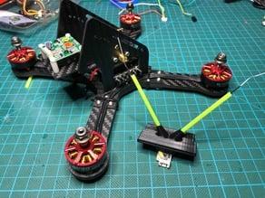 FrSky R-XSR receiver mount / antenna holder for Shendrones Krieger