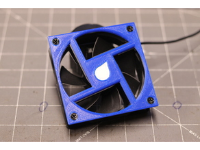 80mm fan cover plate