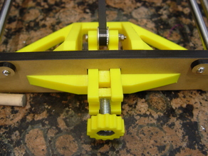 Anet A8 X-axis and Y-axis tensioners for 20T x 3mm toothed idlers