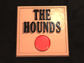 Mr. Burns' THE HOUNDS button