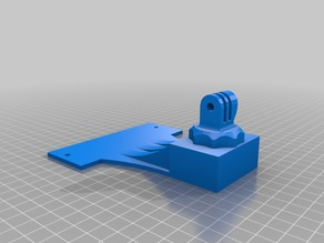 Makerbot Rep2 Fixed GoPro Mount