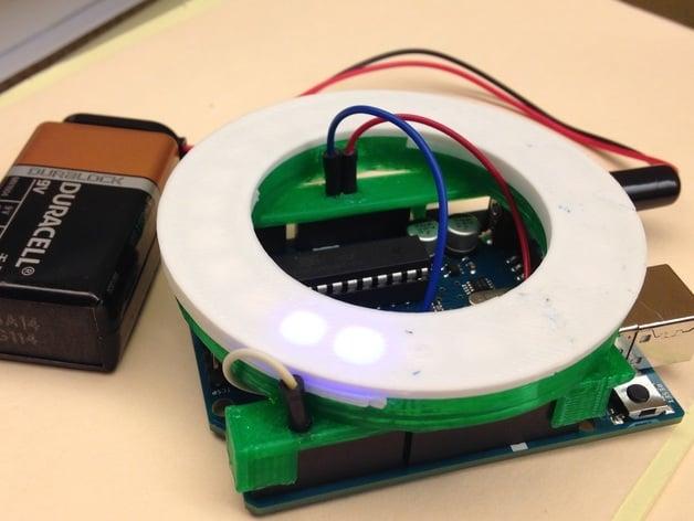 NeoPixel Ring 24 LED Arduino Shield by enauman - Thingiverse