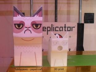 Grumpy Cat Birdhouse