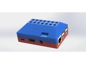 Master System Raspberry Pi 2 & 3 case