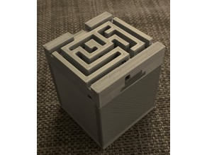 Sliding puzzle box from hell