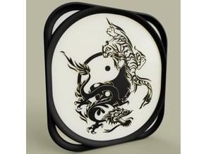 Ying Yang Tigre et Dragon
