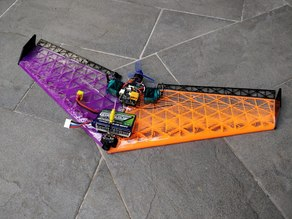 TinyWing - Brushless 40cm FPV Wing