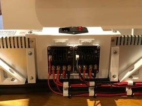 Tronxy X5S Dual PSU Cover Fuse Switch
