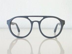Lunettes VTO | VirtualTryOn.fr 3D Printed Glasses : Enio